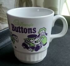 Pre-Owned Vtg. 'Cadbury's Buttons' Small Child's Cup - Good Condition