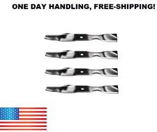"""John Deere (4) 38"""" Mower Deck Blades AM141040 M154158 M112991 AM137325 FREE S&H!"""