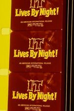 IT LIVES BY NIGHT TRAILER  B&W 16MM FILM ROLLED NO REEL  C5