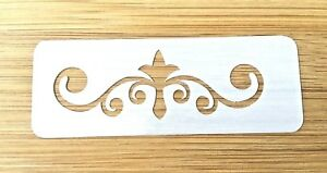 Face painting stencil reusable washable lily pad 190 Mylar glitter henna tattoo