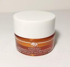 Origins ginzing refreshing eye cream to brighten & depuff Travel Size 5ml/0.17oz