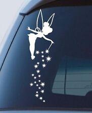Tinkerbell Fairy dust window Sticker stars car decal cute 300mm