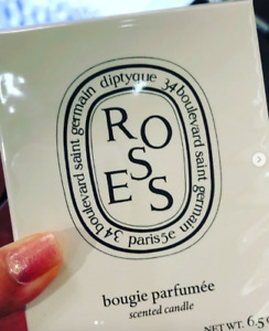 100% Authentic Diptyque Roses Scented Candle 6.5 oz or 2.5 oz Pick 1 New in Box