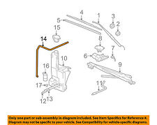General Motors Car And Truck Windshield Wipers For Sale Ebay. GM Oem Wiper Washerwindshieldwasher Hose 12487672. Chevrolet. 1997 Chevrolet Suburban Windshield Washers Systems Diagrams At Scoala.co