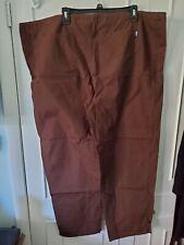 Tafford Brown Essentials Unisex Size Xl Drawstring Scrub Uniform Pants