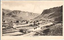 1909 Bird's Eye View of Palisade, NV Nevada PC Very Rare