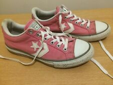 LADIES CONVERSE CONS ALL STARS  PINK TRAINERS UK SIZE 3 EUR 36/5