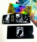 ZOX **POW*MIA** GOLD Strap med Wristband w/Card New Mystery Pack + GOLD card
