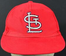 Red St Louis Cardinals embroidered baseball hat cap adjustable snap back.