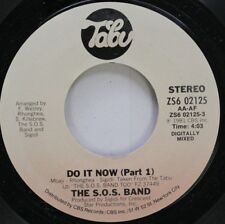 Soul 45 The S.O.S. Band - Do It Now (Part 1) / Do It Now (Part 2) On Tabu