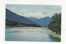 Mt Hooker Haast Pass New Zealand 1971 Postcard 449a