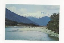 Mt Hooker Haast Pass New Zealand 1971 Postcard 449a