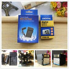 Battery PACK + charger for JVC BN-VF707U BN-VF714U BN-VF733US Everio GR-D347us