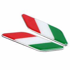 Car Italy Flag Badge Italia Emblem Body Stickers Decal for Lamborghini Maserati