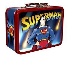 Superman Cartoons . Collectable Tin With Handle . Max Fleischer . 2 DVD . NEU