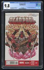 Deadpool #37 CGC 9.8 NM+/MT (Marvel 1/15) X-Men, Batroc, & Trapster appearance