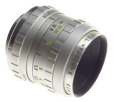 XENOPLAN Schneider 1:1.9/25mm C-Mount chrome rare lens f=25mm fits Bolex H16 RX