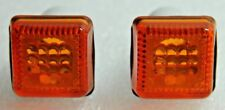 2X FORD ESCORT MK3 FIESTA MK2 SIERRA MK1 ORION INDICATOR SIDE REPEATER ORANGE