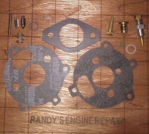Carburetor KIT Briggs & Stratton 7 & 8 HP horizontal engine Genuine 394693