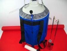10L azoto liquido LN2 Cisterna Contenitore CRIOGENICI statico con spalline N UV