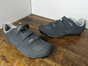 New! Garneau men's Multi Air Flex Gray Cycling Biking Shoes Size EU 48 US 12.5