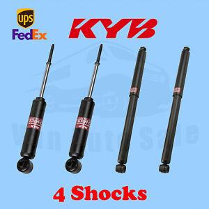 KYB Front Rear Shocks for PLYMOUTH Roadrunner, Superbird 1973-75 Kit 4
