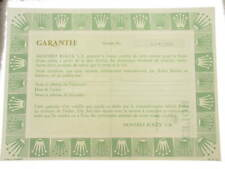 Rolex certificate serial number 6.053.116 genuine garanzia certificato originale