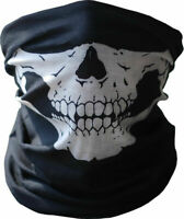 Unisex Skull Bandana Neck Gaiter Face Mask Scarf Head Cover Balaclava Halloween