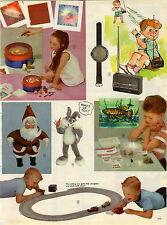 1963 PAPER AD 2 PG Toy Dick Tracy 2 Way Wrist Radio Mattel Talking Bugs Bunny