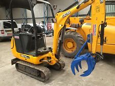 1-1.9 Ton Excavator Grapple VAT INC! FREE DEL!! CAT KOMATSU JCB BOBCAT TAKEUCHI