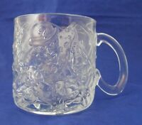 Riddler McDonald's 1995 Batman Forever Glass Promotional Clear Coffee Mug