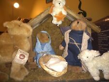 Boyds Bears Nativity Scene