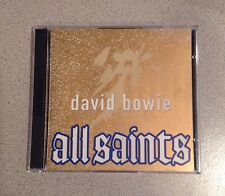 "DAVID BOWIE  ""All Saints"" Instrumental Christmas '93 Promo CD set"