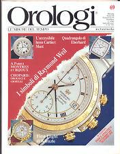 OROLOGI LE MISURE DEL TEMPO N. 69 DICEMBRE 1993