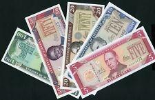 Liberia  5 - 100 dollars 2003 Complete Series P26a - P30a UNC - Excellent!