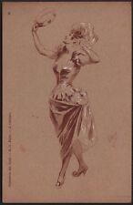 Jules Chéret. Collection des Cent. Danseuse. Vers 1901