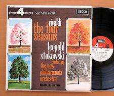 PFS 4124 Vivaldi Four Seasons Stokowski Hugh Bean 1967 NEAR MINT Phase 4 Stereo