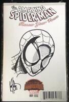 Amazing Spider-Man Renew Your Vows #1 Haeser Sketch Var Signed Secret Wars comic