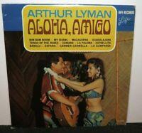 ARTHUR LYMAN ALOHA AMIGO (VG) L-1034 LP VINYL RECORD