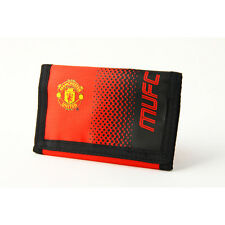 MANCHESTER UNITED FC FADE MONEY WALLET PURSE NOTES COIN CARD MEN NEW XMAS GIFT