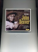 JOHN DENVER - THE REAL... JOHN DENVER - 3 CDS - NEW!!