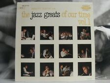 MANNY ALBAM AND THE JAZZ GREATS OF OUR TIME - VOL. 1 LP EX / VG+ CORAL CRL 57173