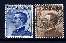 ITALIA - Regno - 1908 - Michetti a sinistra - Serie 2 valori