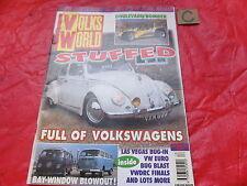 Volks Welt VW Magazin Christmas 1996 Bay Fenster Blowout buggy-58 retro-euro
