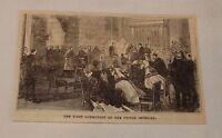 1879 magazine engraving ~ NAPOLEON IV'S FIRST COMMUNION, France