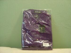 Men's JONATHAN COREY Violet Long Sleeve Dress Shirt Size L NEW!