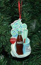 """Coca Cola, Coke """"Ice Cold"""" Christmas Ornament"""