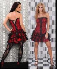 3-PIECE STRAPLESS CORSET DRESS, 4XL, NEW