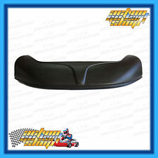 GO KART NOSE CONE SMALL BLACK FRONT SPOILER DIRT SPEEDWAY NEW FREE DELIVERY