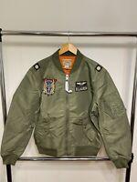 Polo Ralph Lauren Twill Bomber Jacket MSRP $398 MEDIUM